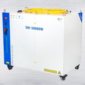 50000W 高功率多模组连续光纤激光器