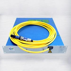 500W 超薄型高亮度单模连续光纤激光器